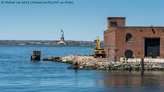 Red Hook View (20180422-DSC05259) (Michael.Lee.Pics.NYC) Tags: newyork redhook brooklyn statueofliberty warehouse waterfront watertaxi ikea sony a7rm2 fe24105mmf4g