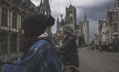 (robertosanchezsantos) Tags: gante gent gand bélgica belgium europa europe viaje travel arte art abstracto abstract urbano urban architecture arquitectura edificio gente ciudad retrato paisaje landscape