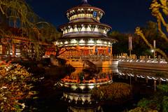 China - EPCOT (Curtis Lannom) Tags: night disneyworld epcot worldshowcase vacation wdw disney florida