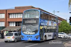 First Eastern Counties 36178, BD11CDX. (EYBusman) Tags: first eastern counties bus coach network norwich station city centre norfolk wright eclipse gemini volvo b9tl 36178 bd11cdx eybusman