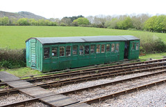 Ancient coach body at Norden. (steve vallance coach and bus) Tags: swanagerailway norden lswr