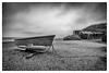 Dunwich beach, Suffolk (Aliy) Tags: dunwich beach suffolk sea boat smallboat rowingboat dramaticsky losttown