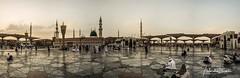 L1250517-Panorama (a.elhamine) Tags: mosquée annabawi masjid arabie saoudite medine