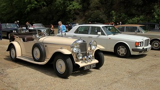 1947 Bentley Mk VI Special Roadster WXO 553, 1993 Bentley Torbo R L133 DHA