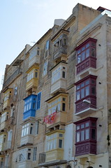 Overlooking The Marsamxett Harbour [Valletta - 26 April 2018] (Doc. Ing.) Tags: 2018 malta valletta lavalletta ilbeltvalletta city capital spring marsamxettharbour façade building architecture