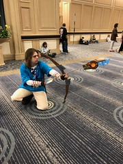 Breath of the Wild Link (blueZhift) Tags: animecentral2018 acen 2018 cosplay anime manga comics videogames costume cartoons scifi fantasy