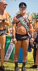 Mr Ramrod (LarryJay99 ) Tags: pridefest2018 2018 lakeworth florida festival men male man guy guys dude dudes manly virile studly stud masculine sexyman manlybutts shirtless ramrod leather mirrorglasses caps hairylegs hairman laitylegs faces facialhair bulge bulges beard mustasch peekingpits peekingnipples nipples legs nipplebars piercings tatts tattoos bellybutton navel harness wristbans handsomemen