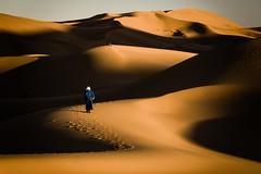 At the Erg Chebbi (cezary.morga) Tags: sahara morocco desert dunes people sunset