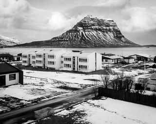 Morning in Grundarfjörður, Mountain View