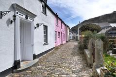 Boscastle cobbles, Cornwall (Baz Richardson (now away until 26 Oct)) Tags: cornwall boscastle valencyrow cobbledlanes streetscenes narrowlanes georgianarchitecture
