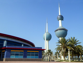 The water towers, Kuwait,