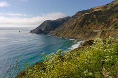 Big Sur To Be Open (tourtrophy) Tags: bigsur californiacoast california pacificcoastalhighway nikoncoolpixa