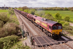 Class 66 - 66188 (The_Anorak) Tags: diesel locomotive british rail railways freight goods claymills staffordshire burtonupontrent england unitedkingdom uk greatbritain gb thursday 26th april 2018 66188 db deutschebahn dbs dbc dbcargo 6e02 bescot bostondocks steel empties class66 shed generalmotors gm electromotivediesel emd type5