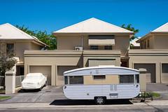 Newport (Westographer) Tags: newport melbourne australia westernsuburbs suburbia caravan house home covered colourcoordination