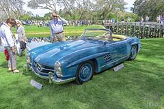 Mercedes Benz 300SL at Amelia Island 2018 (gswetsky) Tags: amelia island concours delegance antique mercedes benz 300sl european german