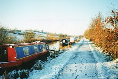 img154 (Homemadesleeper) Tags: travel canal boats winter snow ice tow path kennet avon