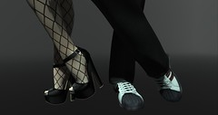 Tango in the streets (MsDarkSecret) Tags: sl secondlife second life dark secrets renoir vladimiro vr creations maitreya lara reign signature gianni tango dance love avatar virtual stockings netting