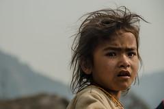 Desperation or Performance (sakthi vinodhini) Tags: nepal portrait abc trek backpack annapurna villager