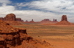 North Window Overlook, Monument Valley (Nana* <salala817>) Tags: monumentvalley arizona utah usa モニュメントバレー アメリカ