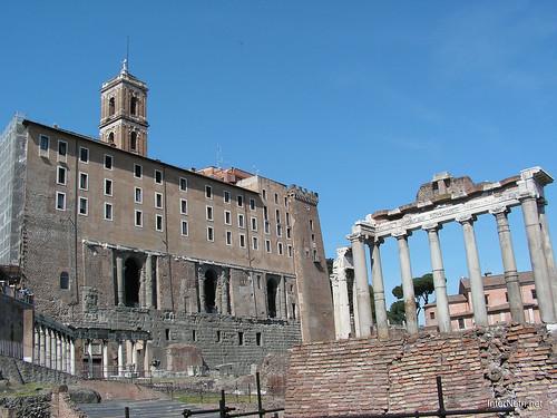Римський форум, Рим, Італія InterNetri Italy 381