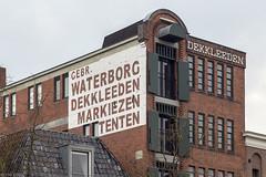 Pakhuis Gebroeders Waterborg (Tim Boric) Tags: groningen lagedera pakhuis warehouse waterborg letters lettering mural ad
