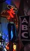 Vegas Vic (Emepol Photo) Tags: nightphotography cowboy vaquero sign neonsign lasvegas vegasvic