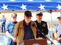 IOWA 47 Remembrance 4-19-2018 (48) (Konabish ~ Greg Bishop) Tags: battleshipiowarememberingthe47 warship bb61 ussiowa the47 turret2 ceremony remembrance sanpedrocalifornia portoflosangeles pola southerncalifornia