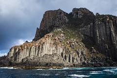 Cape Pillar, Tasman National Park (Peter Weckesser) Tags: tasmannationalpark tasmansea water things cliffs ocean tasmania places international rocks capepillar australia au