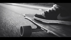 [ Just Cruise ] (Visual Flows) Tags: amsterdam westerpark skate longboard timber boards skateofmind visual flows cinematography cinematic widescreen 24mm park speed cruising nikesb nike road perspective