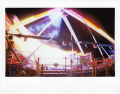 (MichaWha) Tags: michaelflocco roidweek polaroidweek instantcamera instantfilm instax instaxwide lomography lomoinstantwide funfair night lights longexposure