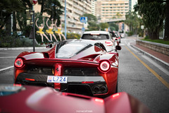 Two special ones (MonacoFreak) Tags: monaco montecarlo frenchriviera cotedazur cars car luxury ferrari laferrari mansory 599gtb stallone 599