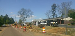 ♪ Whiskey bottles, and brand new cars/Oak tree you're in my way ♫ (l_dawg2000) Tags: desotocounty hernando hwy51 mdot mississippi ms roadconstruction roadimprovements