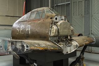 Mitsubishi Zero A6M5 - Cockpit Section