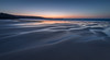 Dusk, Gwithian Sands (Mick Blakey) Tags: cscapeart gwithian mickblakey stives beach blue cliffs clouds coast coastal contrast cornish cornwall dreamy dusk orange reflection sand sea seascape shadows shoreline silhouette slowexposure sun sunset surreal tide twilight