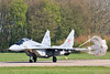 MIG-29A 111 Polish Air Force (Jarco Hage) Tags: leeuwarden ehlw afb air force base netherlands byjarcohage rnlaf mil militair airplane aircraft jet jets fighter luchtmacht vliegveld vliegbasis mig29a 111 polish