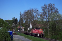 294 761 Georgsmarienhütte-Holzhausen (V100 1011) Tags: baureihe 294 v90 diesel bahn train zug railway fright georgsmarienhütte holzhausen patkenhof niedersachsen hüggel