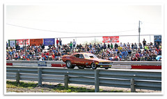 Smokin' (bogray) Tags: racecar funnycar dragster dragstrip mokandragway asbury mo smokinmokan funnycarchaos vintage classic historic preserved restored
