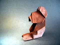 Teddy bear - Edward Megrath (Rui.Roda) Tags: origami papiroflexia papierfalten urso nounours teddy bear edward megrath
