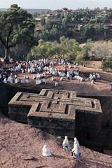 Lalibela, Ethiopia (dayvmac) Tags: lalibela ethiopia temple church stone carving pilgrims