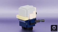 Captain Cold (ORION_brick) Tags: dc comics lego captain cold rogue brickheadz