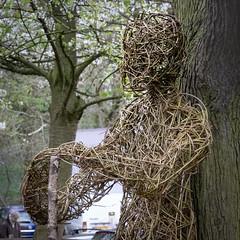 Into the Outwoods (Brian Negus) Tags: sculpture spring sculptureweek tree figurehead staff intotheoutwoods loughborough outwoods nationalforest charnwood willowsculpture artspace keeperofthewoods nitarao