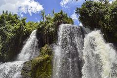 Cascadas (Tato Avila) Tags: colombia colores cálido cielos naturaleza nikon nubes santander guadalupe cascada water agua waterfalls arboles vegetal colombiamundomágico