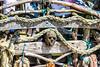 Tourist attraction (Tony Shertila) Tags: wallasey england unitedkingdom europe britain merseyside wirral newbrighton beach driftwood ship pirateship model installment river coast waterfront flag