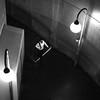 Under lampposts (pascalcolin1) Tags: paris homme man métro subway lumière light lampadaire lampposts escaliers stairs marches steps photoderue streetview urbanarte noiretblanc blackandwhite photopascalcolin 50mm canon50mm canon