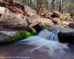 Small stream (jasenhigdon) Tags: waterfall slowshutterspeed longexposure water nature photography romannosestatepark oklahoma