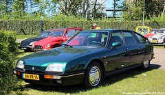 Citroën CX 25 GTI Turbo 2 1988 (XBXG) Tags: drvr15 citroën cx 25 gti turbo 2 1988 citroëncx green citromobile 2018 citro mobile expo haarlemmermeer stelling vijfhuizen nederland holland netherlands paysbas carshow youngtimer old classic french car auto automobile voiture ancienne française vehicle outdoor