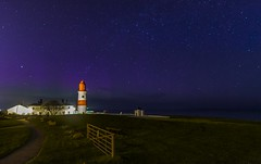 The Aurora Borealis & Milky Way visible from the lighthouse (Mark240590) Tags: milkyway lighthouse aurora