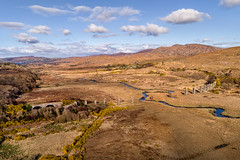 """""""Owencarrow Railway Viaduct"""" – Remembrance of the 1925 Disaster (Gareth Wray - 10 Million Views, Thank You) Tags: gweedore dji creeslough phantom four 4 drone pro p4p crash disaster 1925 tragedy aerial quadcopter landscape landmark tourist attraction tourism tourists historic history visit donegal ireland irish scenic gareth wray photography strabane nikon sun atlantic day vacation 2018 derrybeg sunset gaeltacht hill ruin abandoned decay rural traditional owencarrow bridge viaduct gortahork lost rail railway tracks line station train steam londonderry lough swilly company"""