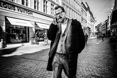 Rane Willerslev, director of the Danish National Museum (Sean Bodin images) Tags: nationalmuseet streetphotography streetlife strøget seanbodin streetportrait people photojournalism photography copenhagen citylife candid city citypeople voreskbh metropolight mitkbh denmark documentary documentery delditkbh amagertorv may maj 2018 spring nørreport københavn købmagergade