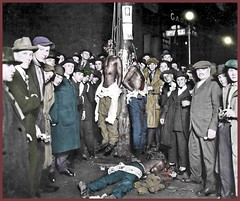 Lynching Postcard from Duluth (Sandy Qumbayah) Tags: lynching maga assassination racism injustice minnesota duluth 1920 hatred abuse murder horror macabre morbid glee unchristian negros africanamerican jimcrow immolation hanging hung blacks impunity grotesque makeamericagreatagain fromtheheartland postcard photoop heartless evangelicals colorized mobjustice whitesupremacists terror blm